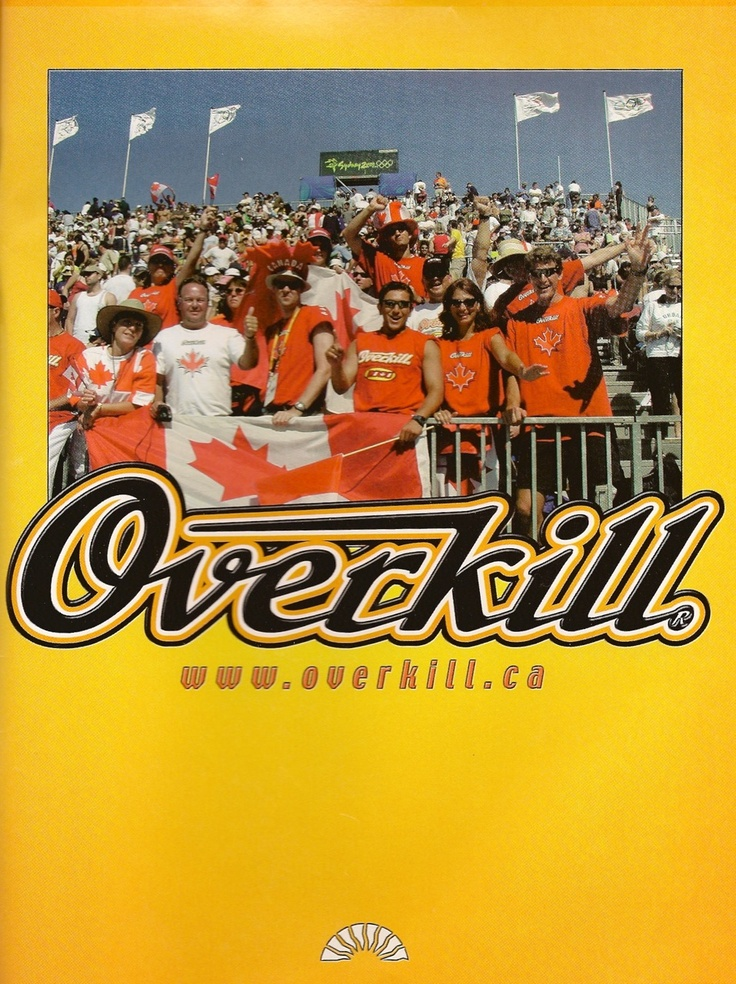 The Overkill section in Sydney 2000 Olympics. Recognize anyone?