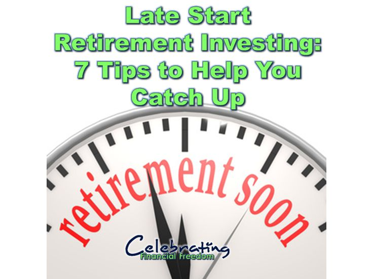 Are you getting a late start on investing for retirement?  Here are 7 things you can do right now to help you catch up  #Investing #retirement  Photo Credit:David HilowitzviaCompfightcc