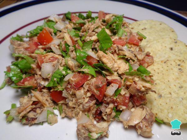 Receita de Sardinhas à mexicana