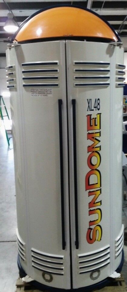 Tanning Bed Booth Wolff Sundome 10 Minute Tan Time Brand New Lamps  #WolffETSSundome48