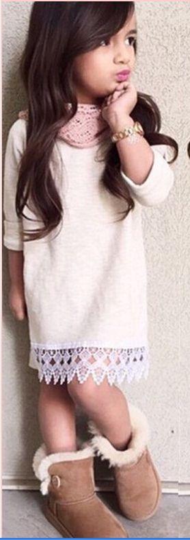 Купить товар2015 горячий новый ребенок милые малыши девушки принцесса ну вечеринку 3/4 рукав цветок кружева платья балетной пачки в категории Платьяна AliExpress.                     Высокое качество и абсолютно новый 100%