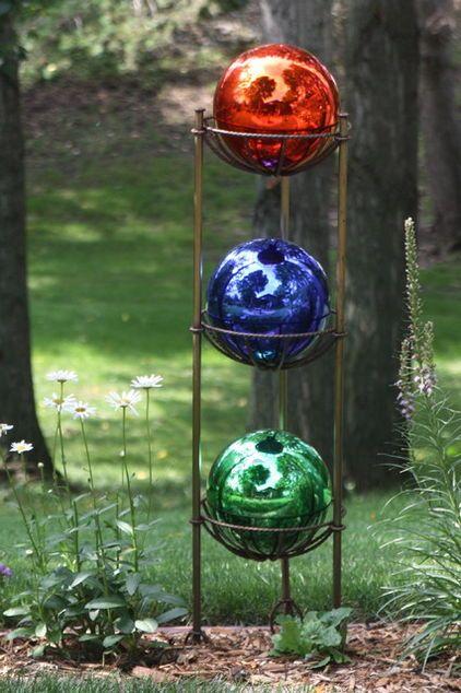 Colorful Gazing Balls