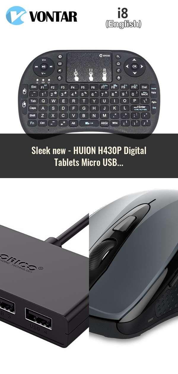 HUION H430P Digital Tablets Micro USB Signature Graphics Drawing Pen