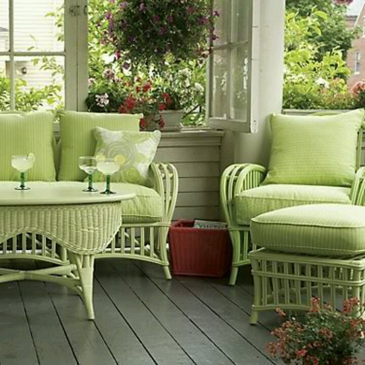 My wish to have this patio furniture in my garden
