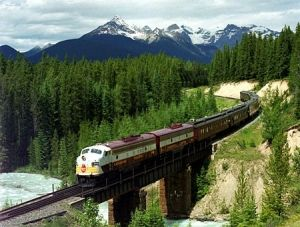 TRANS SIBERIAN RAILWAY, travel 1/3 of the world by train.  My favorite way to travel