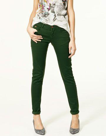 Forrest Green Pants