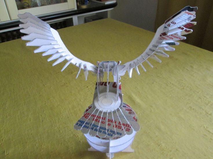 Aquila ---- Fai da te - hobby legno - 3d model su Facebook.com