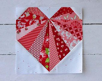 Spread the Love Paper Pieced PDF Pattern