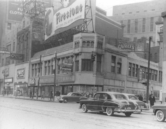 Ned's Auto Supply in Detroit, Michigan; c.1940