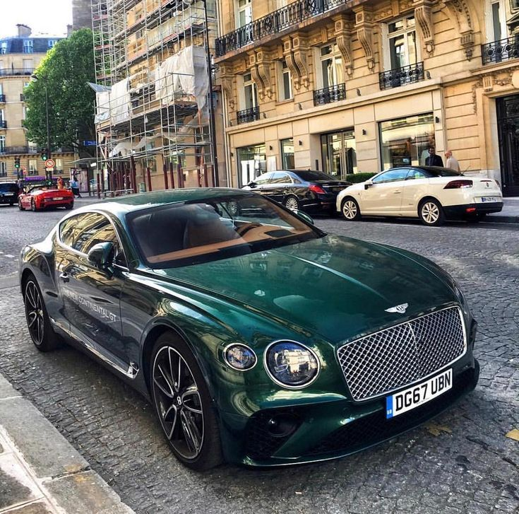 Neuer Bentley Continental GT Green #AutoTribute – #AutoTribute #Bentley #Contine… #Autos