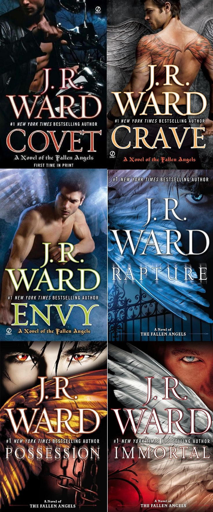 Fallen Angel Series  By Jr Ward Another Great Series From Ward The Key