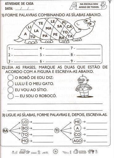 EDUCAÇAO: 2º ANO: PORTUGUES                                                                                                                                                                                 Mais