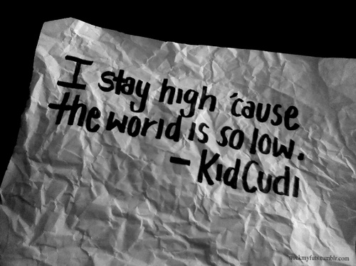 Kid Cudi Keep Your Head Up Life Does Get Better If You Work For