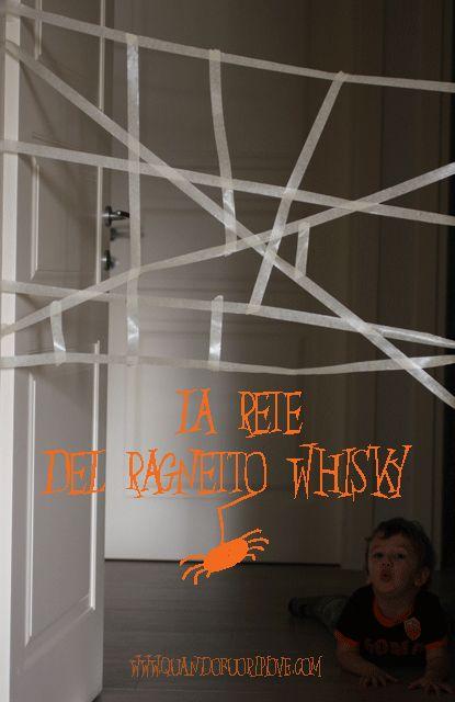 Attività per Halloween (e non solo): il ragnetto Whisky! - (Quandofuoripiove)