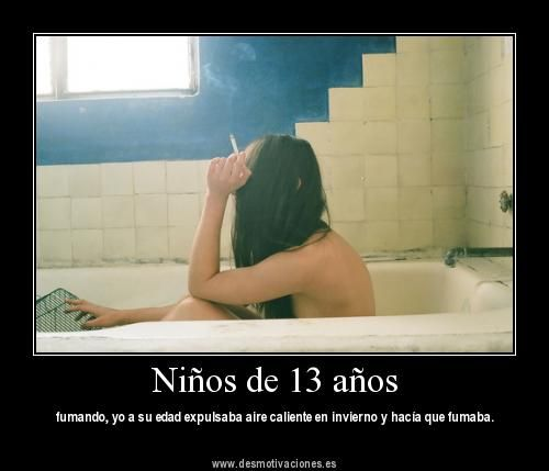 Niños de 13 años (FOTO Desmotivaciones): Girls, Bath Tubs, 051113, Blackwhit, Bathroom Vanities, Photo Body, Black Whit, Start Posts, 3652