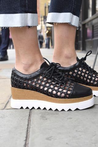 57f30977d3ab Sol Sana Fremont Black Wedge Shoes