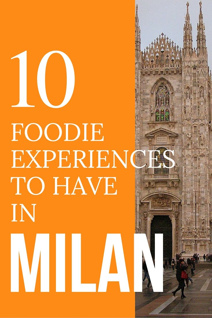 Milan, Italy, a wonderful city filled with history and fashion. But no trip to the city of Milan is complete without these wonderful foodie experiences. Here are 10 must try before you die foodie experiences to have in Milan. Discover the world at MatadorNetwork.com.