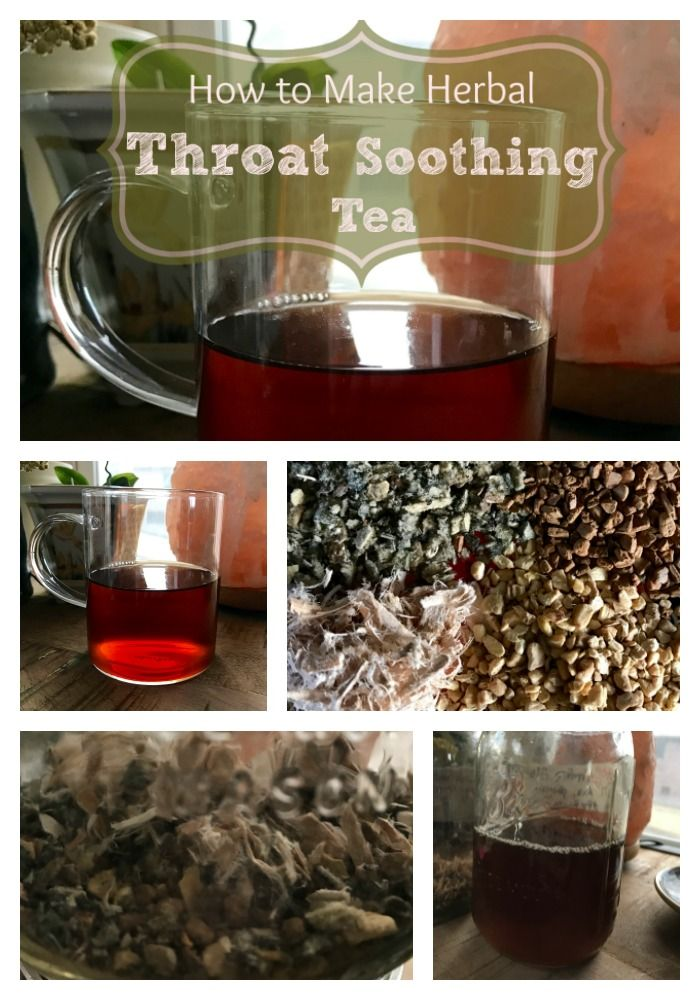 The herbs in this soothing and delicious tea will do wonders for your sore throat! If you have any kind of inflammation in your throat, esophagus, or mouth, this demulcent tea will take care of it! Learn how to make this easy and delicious tea for the next time you have a sore throat!