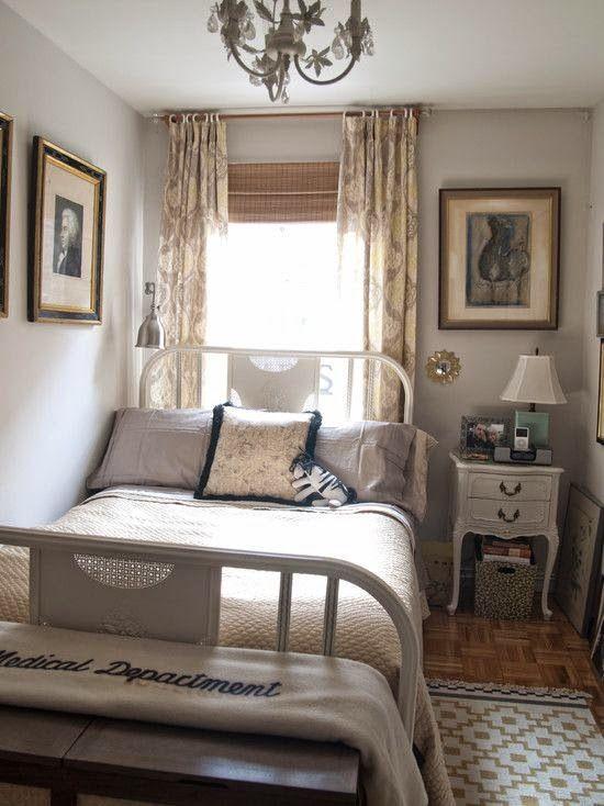 15 dormitorios peque os muy acogedores habitat - Decoracion dormitorio pequeno ...