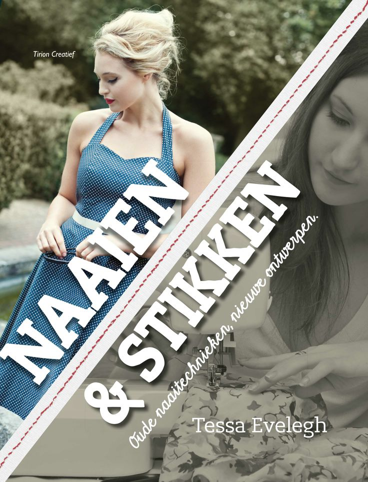 Do you know Sewing Bee, the programme about sewing on BBC2? Here we have the Dutch version of the book: Naaien & Stikken. We are proud of it!