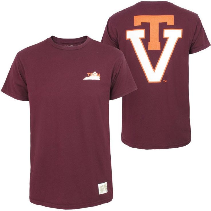 1000 images about hokie men 39 s apparel on pinterest for Virginia tech t shirts