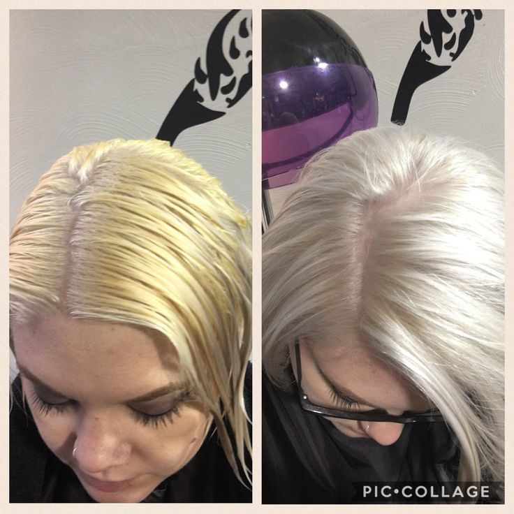 Amazing toner! 12/96 WELLA 10vol with b3. #taylorsbeautybar #pittsburghhair platinum for days!