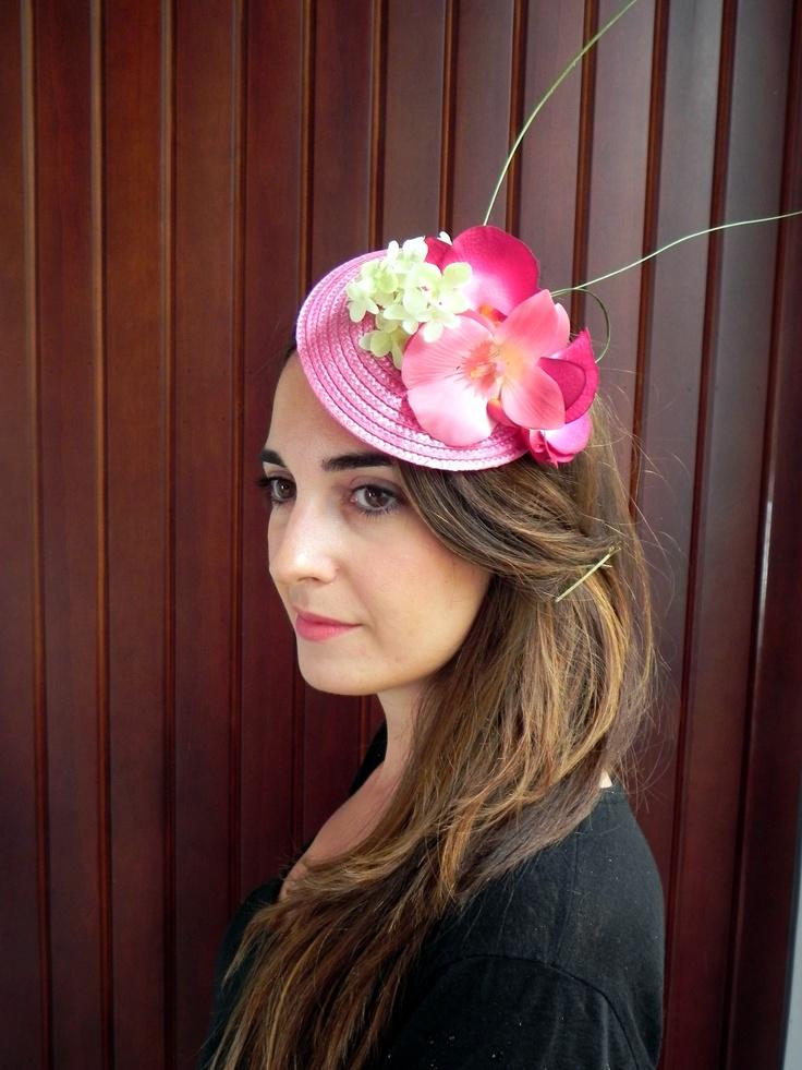 Tocado floral realizado a mano Tabita ByTabita