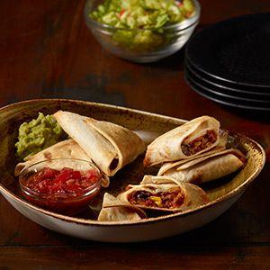 MorningStar Farms® Cheesy Black Bean Quesadilla Triangles Recipe