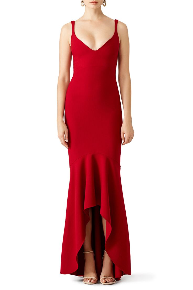 Rent Red Sade Gown by Cinq à Sept for $110 - $125 only at Rent the Runway.