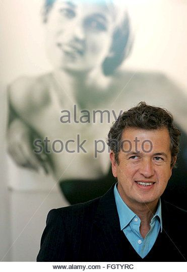 World famous photographer, Mario Testino views his major new exhibition of pictures of Diana, Princess of Wales, at Kensington Palace, London, central England, Tuesday 22 November 2005 and  which opens to the public on 24 November 2005. Mario's images, many never before displayed, are united with the dresses worn by the Princess, and later4 auctioned for charity in 1997. The exhibition, sponsored by HSBC Private Bank,  andwill run until Spring 2007.  EPA/STEPHEN PONDS UK AND IREL...
