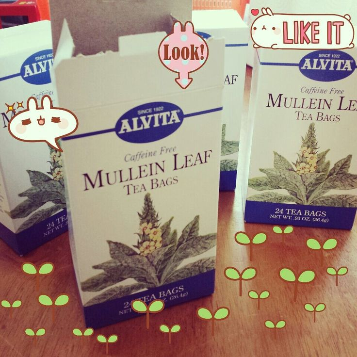 Mullein tea is great for cough, cold and asthma. It has many more benefits :) love that it's caffeine free
