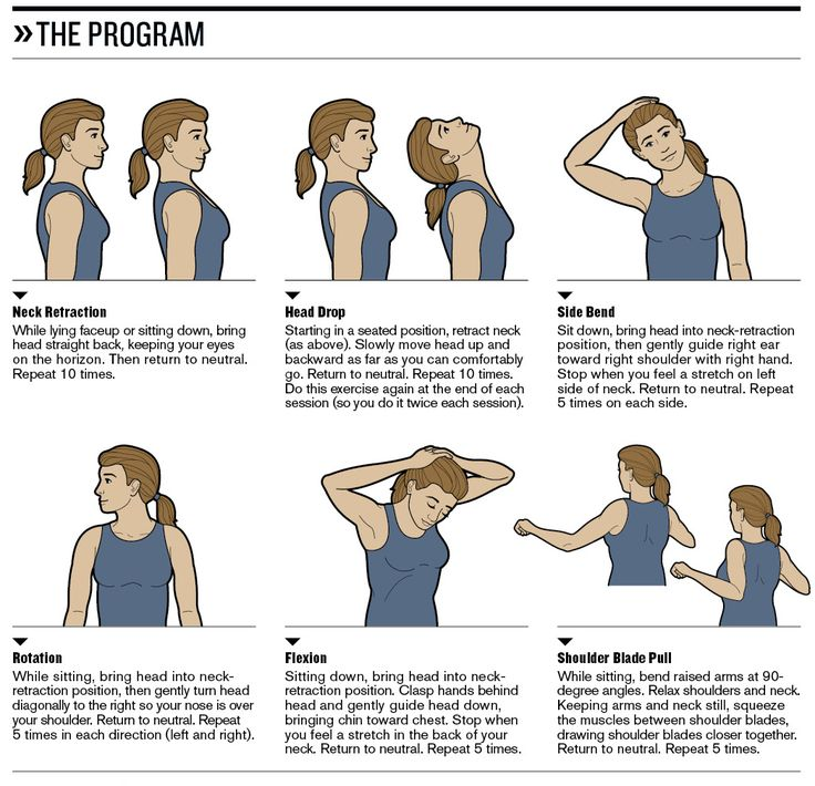 Neck exercises help to stabilize neuromuscular parts. They include processes like neck isometrics which at the end of it all will help in releasing your muscles.