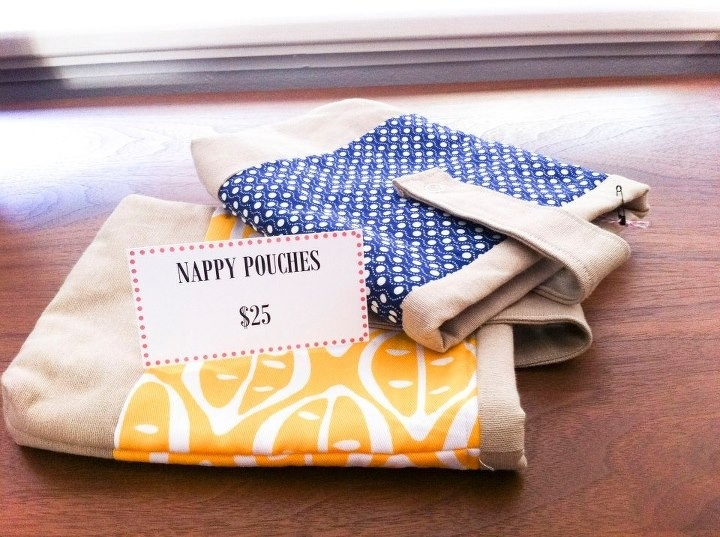 Nappy pouches. $25 not inc postage