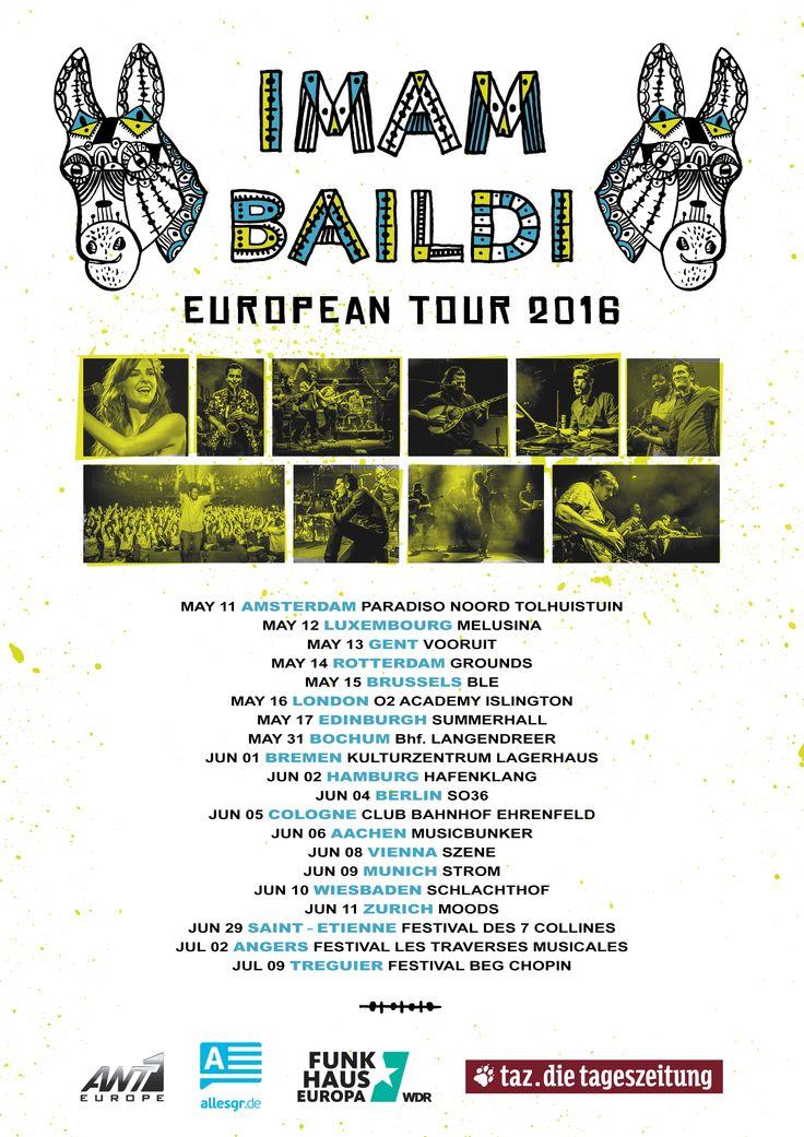 @imambaildi European tour!!