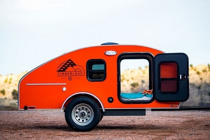 Timberleaf Trailers Bring Serious Creature Comforts In A Light And Compact Camper - CoolThings.com | Cool Stuff, Cool Gadgets, Cool Gifts & Things - Part 3