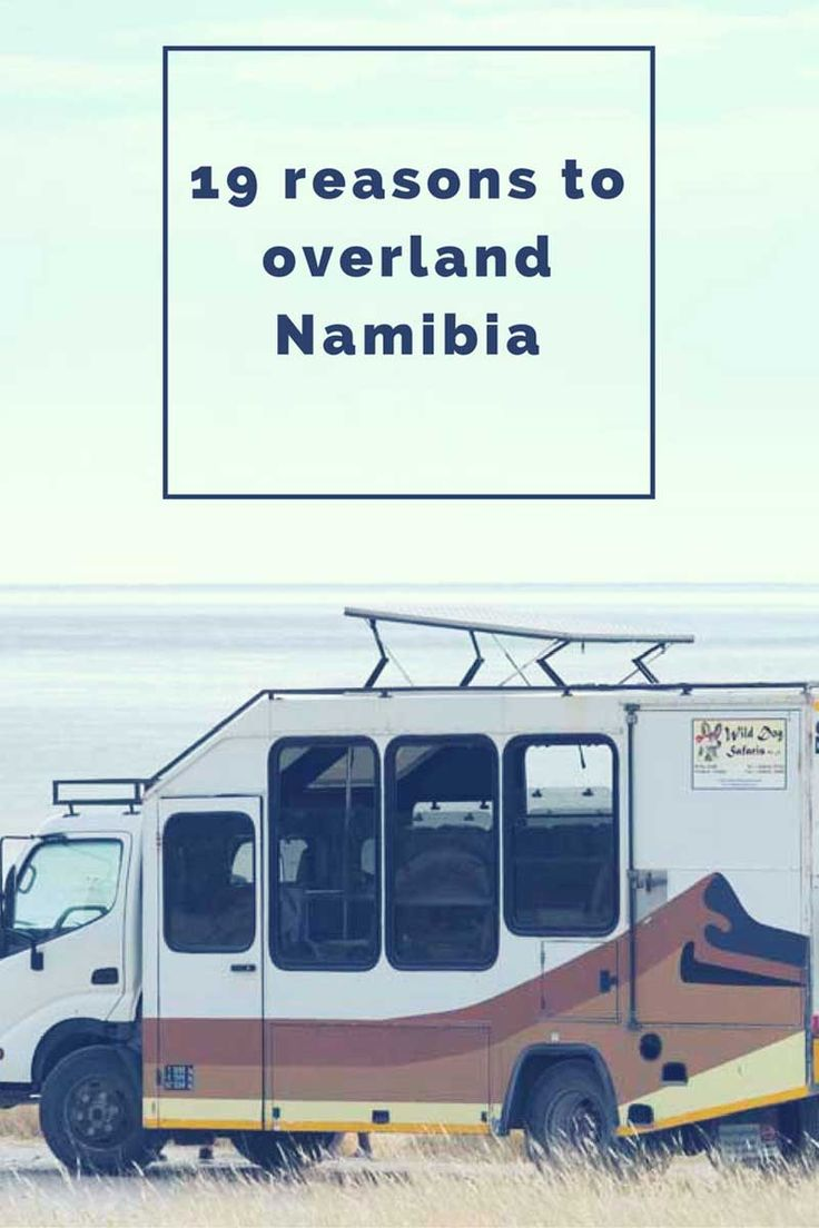 19 Reasons to Overland Namibia - why you should choose an overland Namibia safari for your next holiday!