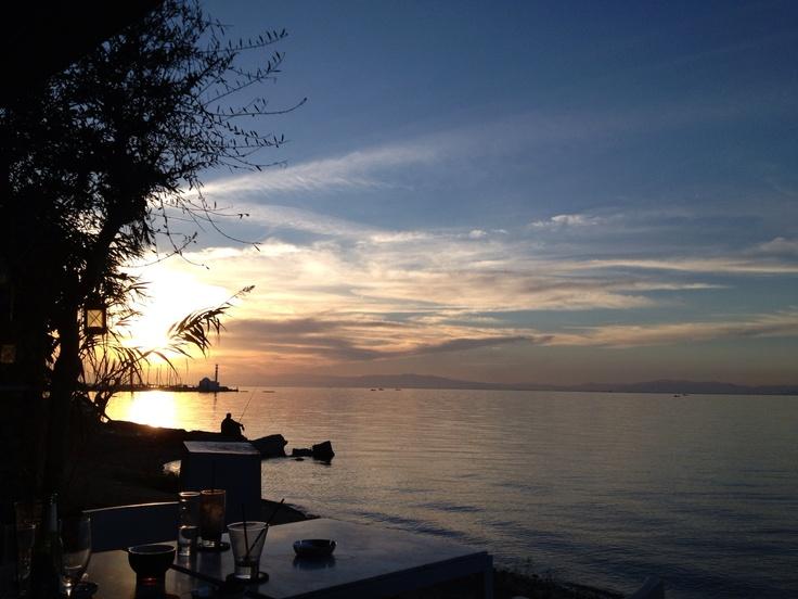 Thessaloniki Sunset Kalamaria