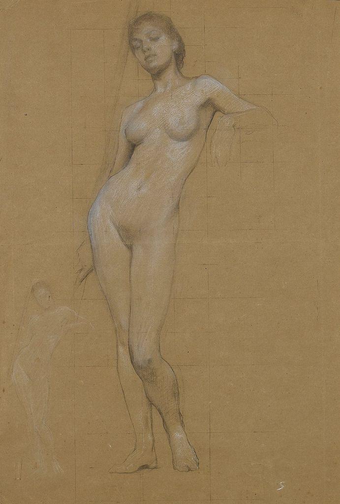 эротический рисунок женской фигуры - 12