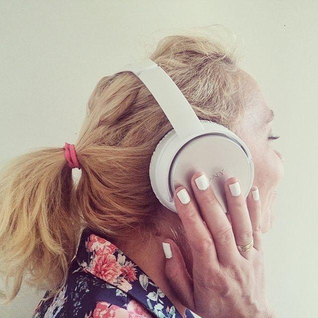 My Secret #muzyka #biały #lakier #mat