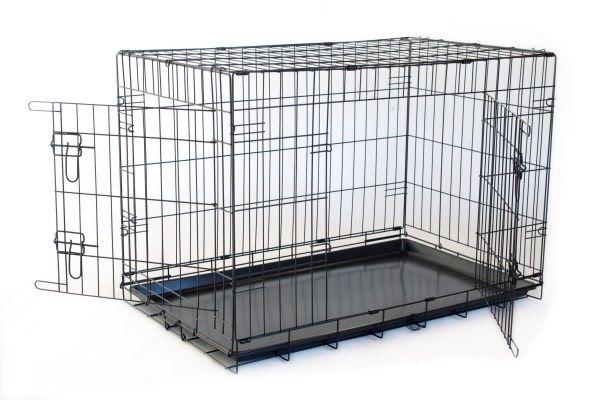 Hondenbench Top kwaliteit zwart