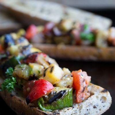 ブランチにぴったり♡グリル野菜のタルティーヌの作り方