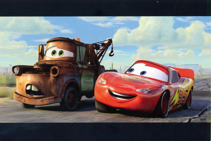 """""""Cars"""" Postcard from Amy in Fayetteville, North Carolina, USA"""