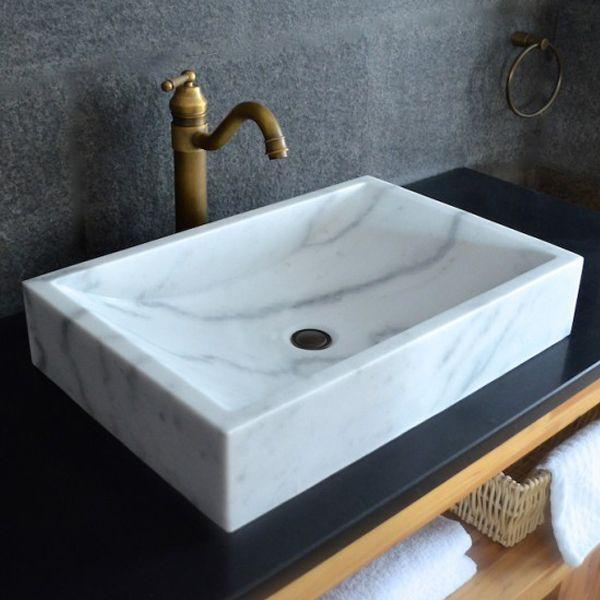 die besten 25 naturstein waschbecken ideen auf pinterest. Black Bedroom Furniture Sets. Home Design Ideas