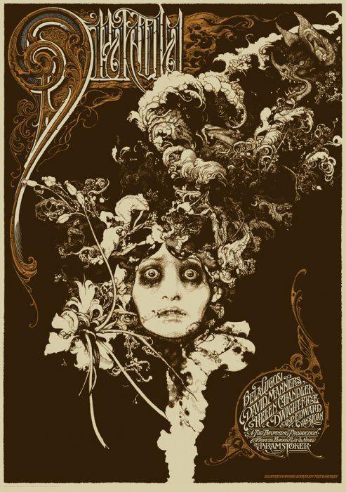 Original 'Dracula Movie Poster, Bela Lugosi Version'