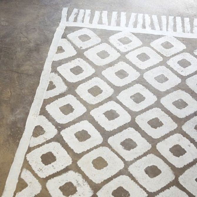 Painted Floor Rug Designs: 78 Best Images About Painted Rugs On Concrete On Pinterest
