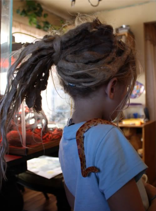 Kids with dreads, hope Olive wants them! lol :: #dreadstop :: #dreadstop