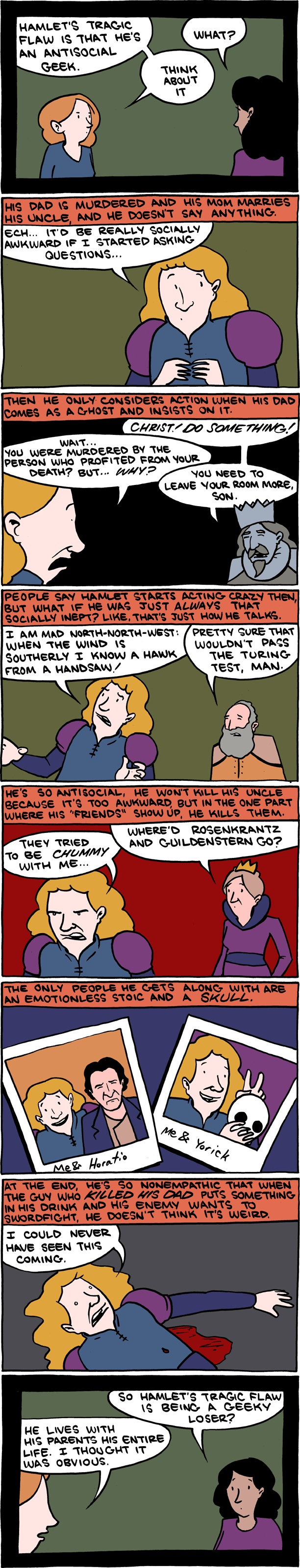 17 best images about valuable thoughts essay topics hamlet was a geek comic