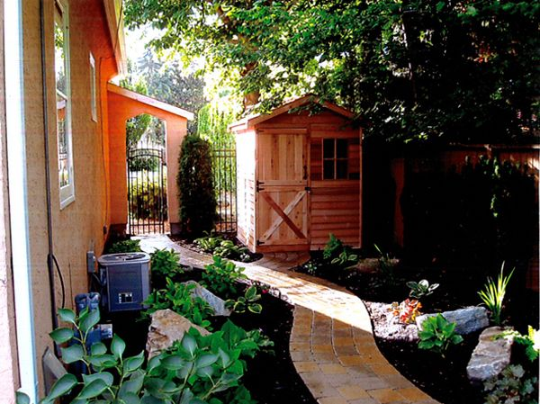 inspiration garden sheds very