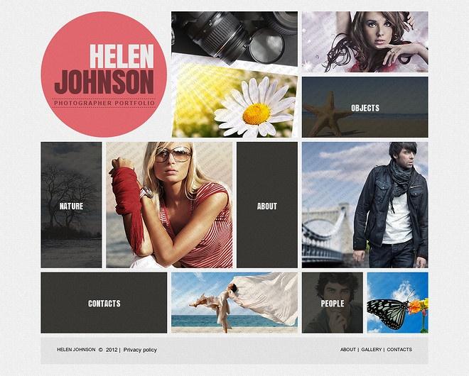 website menu ideas