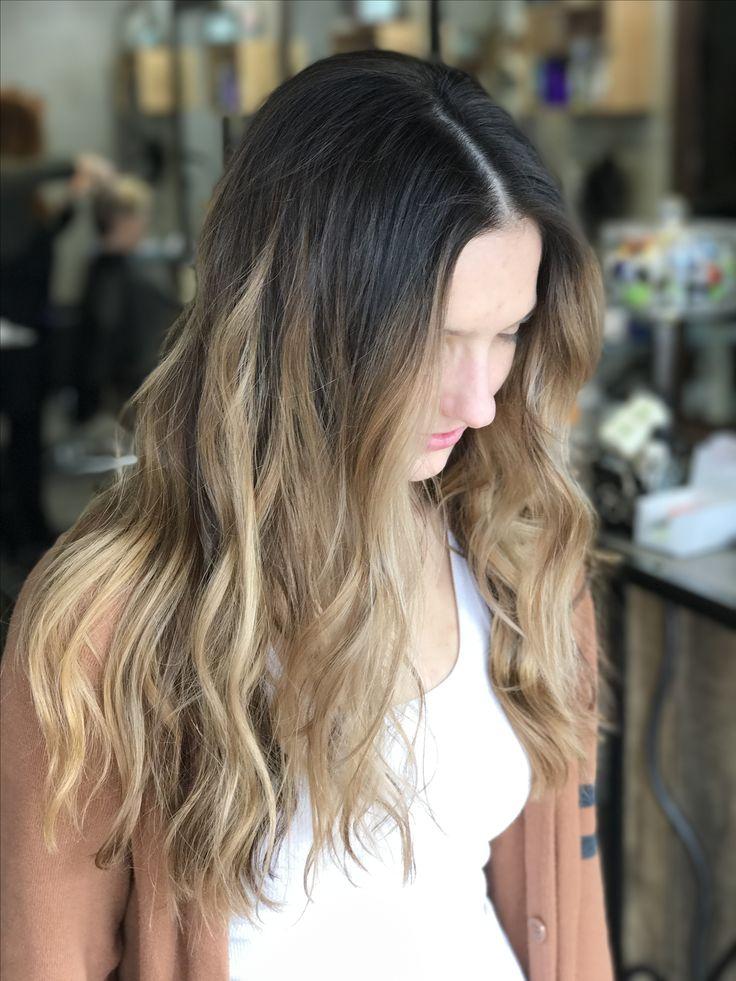 Balayage On Brunette Bronde Hair Brunette Brown Hair